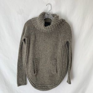 Cynthia Rowley Long Sleeve Cowl Neck Knit Sweater